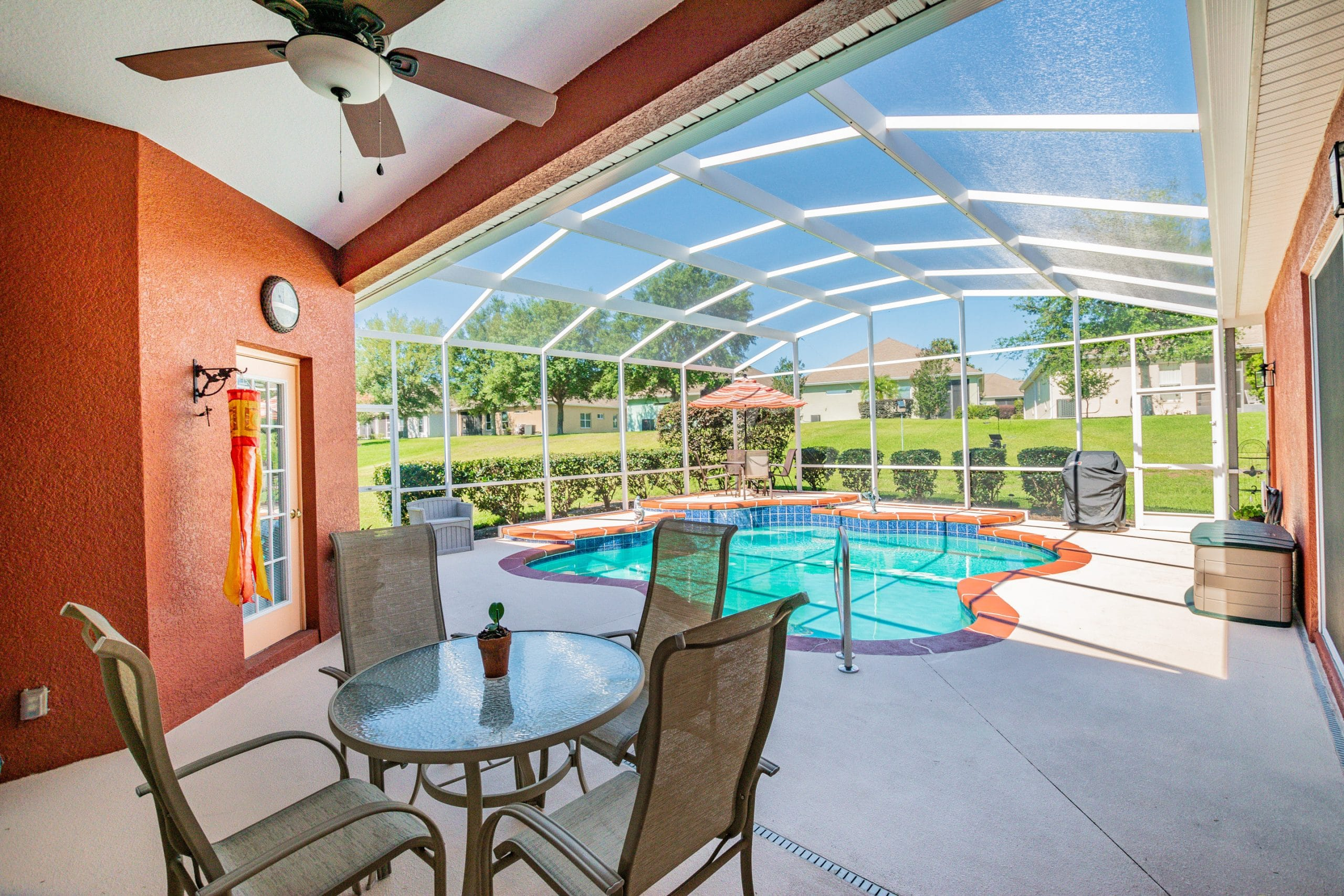 Jacksonville real estate photography outdoor living