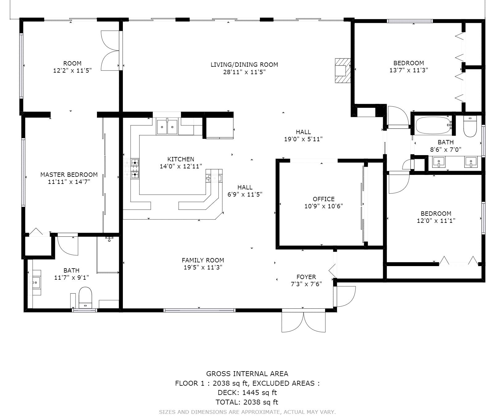 Matterport Floor-plan
